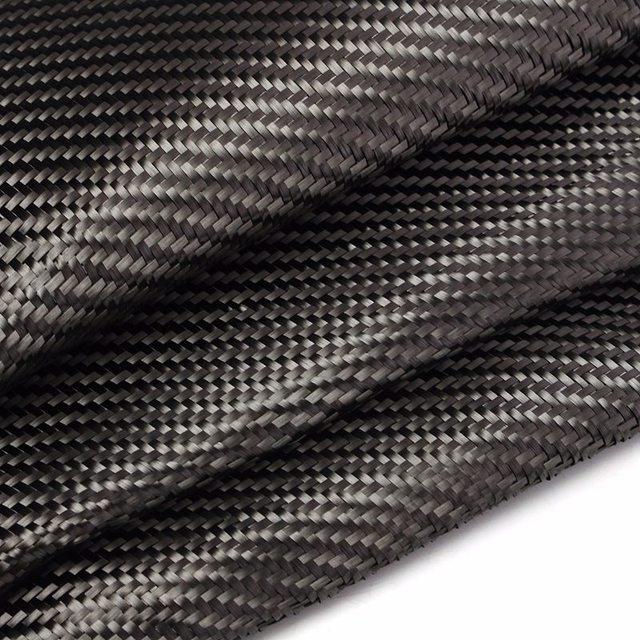 Tissu en Fiber de carbone de haute qualité   127x91cm 2x2 sergé 50