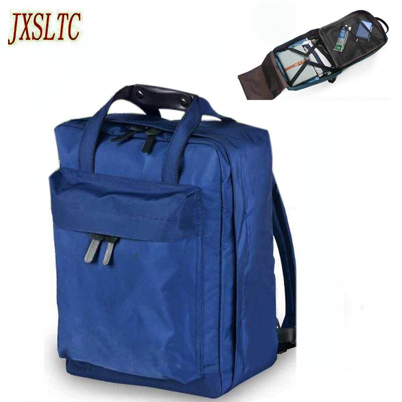 JXSLTC Nylon Duffle Bag Men Small Travel Bags Foldable Backpack Big Capacity Weekend Bag ...