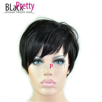 2017 New Pixie Cut Human Natural Hair Wig Rihanna Black Short Cut Wigs For  Black Women African American Celebrity Wigs Hot Sale on Aliexpress.com  6b2289cac