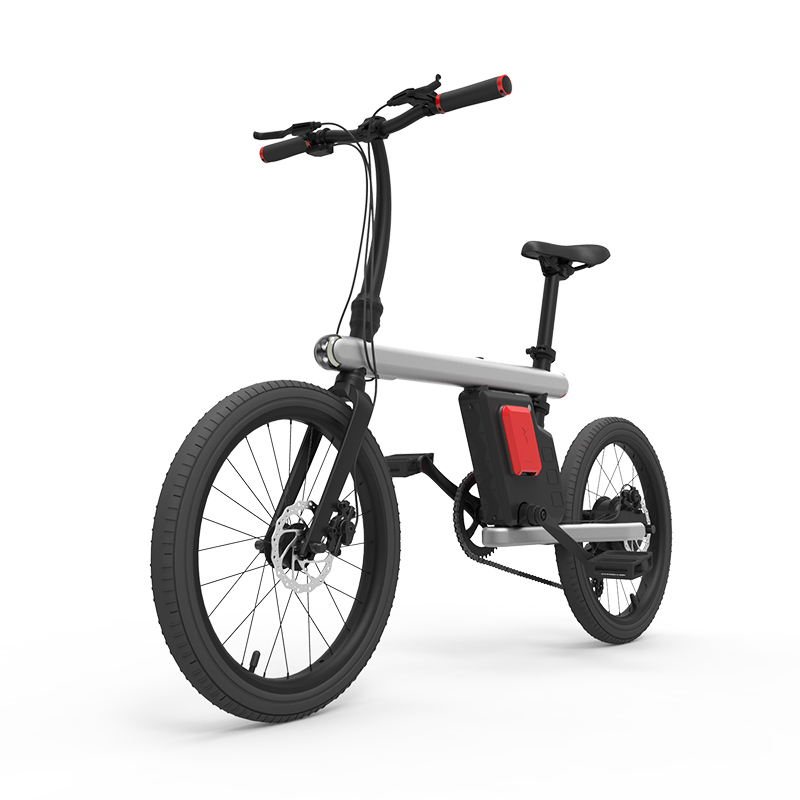 20inch Electric city font b bike b font 36V lithium battery fold electric bicycle speed version