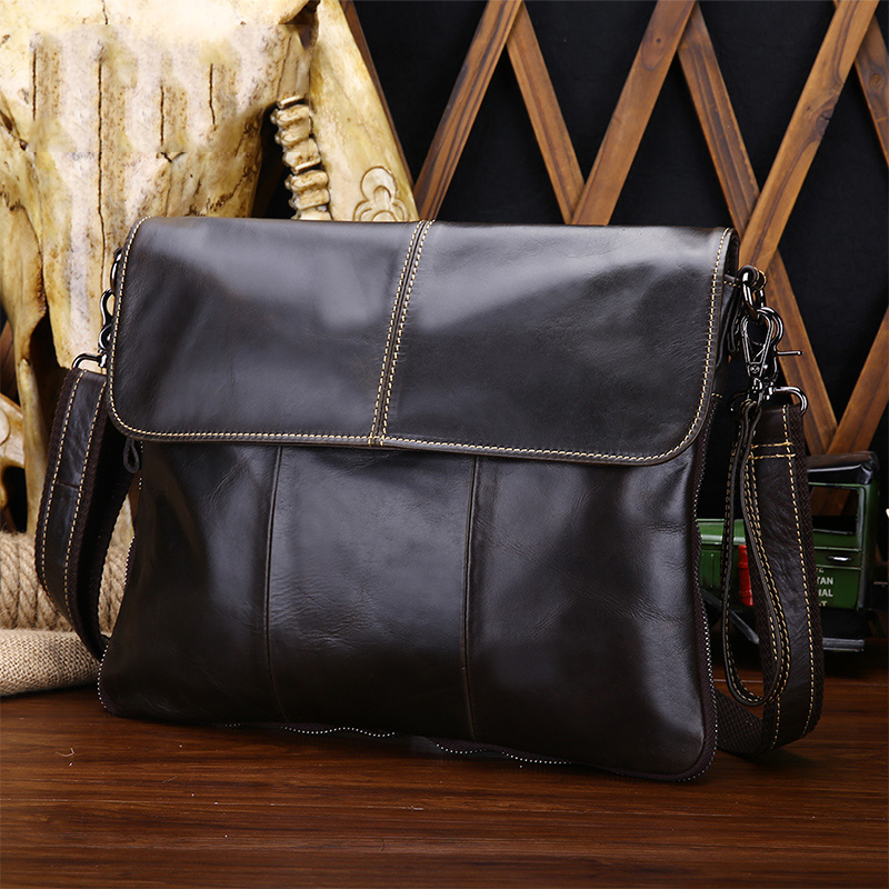 Genuine Leather Men Bag Fashion Leather Crossbody Bag Shoulder Men Messenger Bags Small Casual Designer Handbags Man Bags brand designer genuine leather bag fashion shoulder crossbody bags business briefcase casual men handbags
