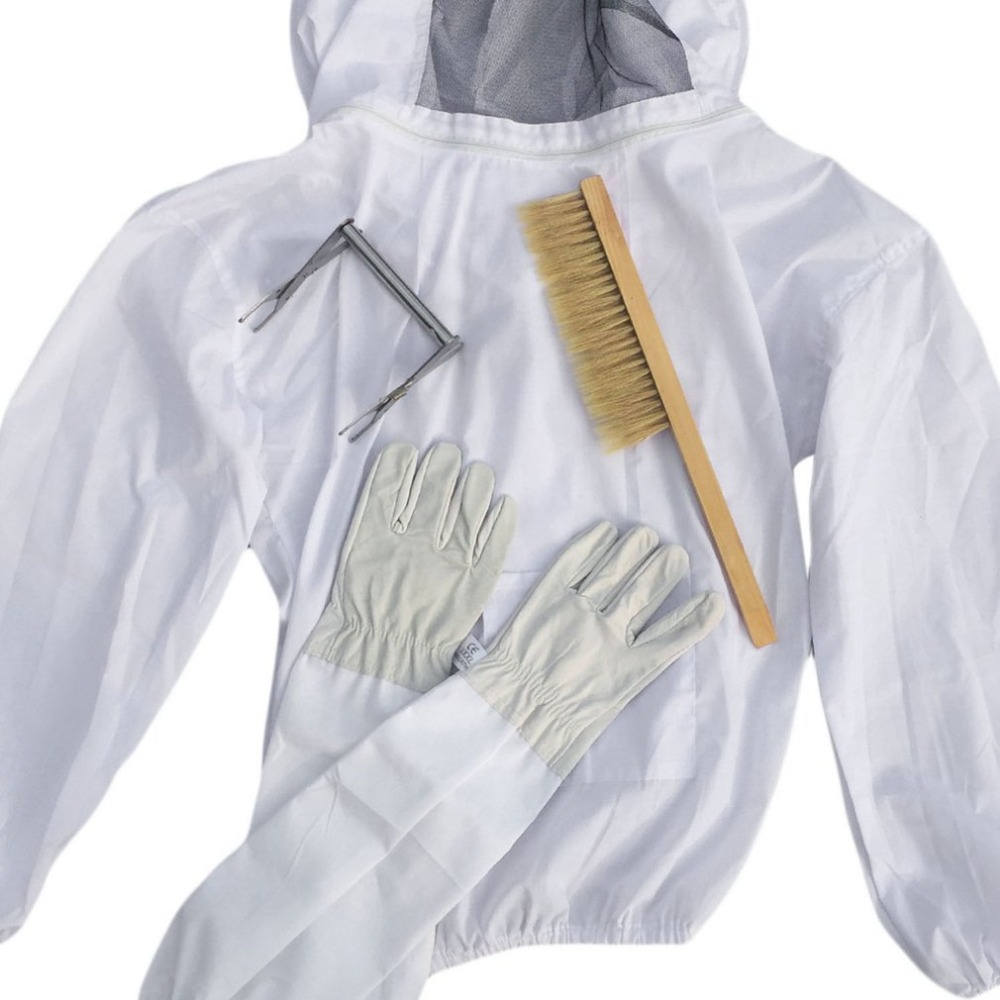 High Quality Protective Bee Keeping Jacket Veil Suit Smock