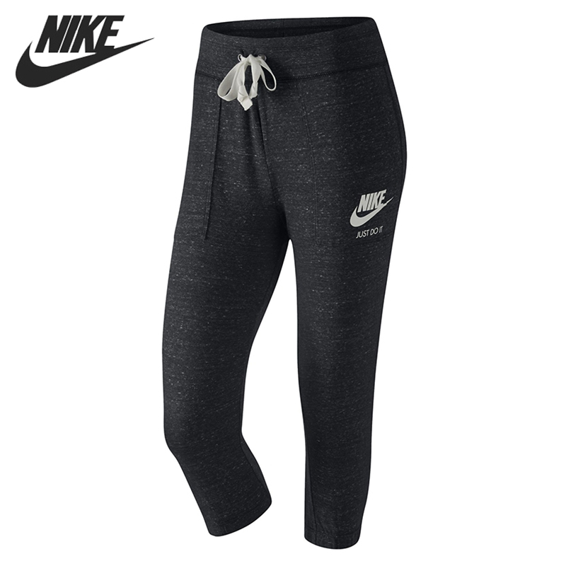 Original New Arrival 2018 NIKE AS W NSW GYM VNTG CPRI 3/4 Length Women's Shorts Sportswear nike w nsw gym vtng drss ss