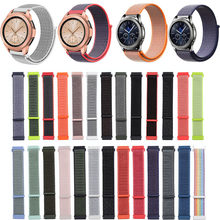 22 20mm Strap for Samsung Gear Sport S2 S3 Classic Frontier Watch Band Pebble Time Steel Galaxy Watch 42 46mm Huami Amazfit Bip(China)
