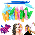 elefunlife Hook Easy Curls Spiral Magic Curls Styling Kit Party Hair work Hair Rollers kit easy to use