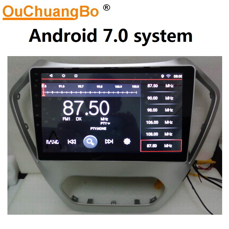 Ouchuangbo car audio stereo gps for MG GT 2014-2018 support BT aux USB free chile map android 7.0