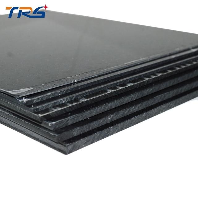 200x250mm con 1mm 2mm 3mm 5mm grosor placa de plástico abs modelo hoja plana sólida para hacer modelos de mesa de arena