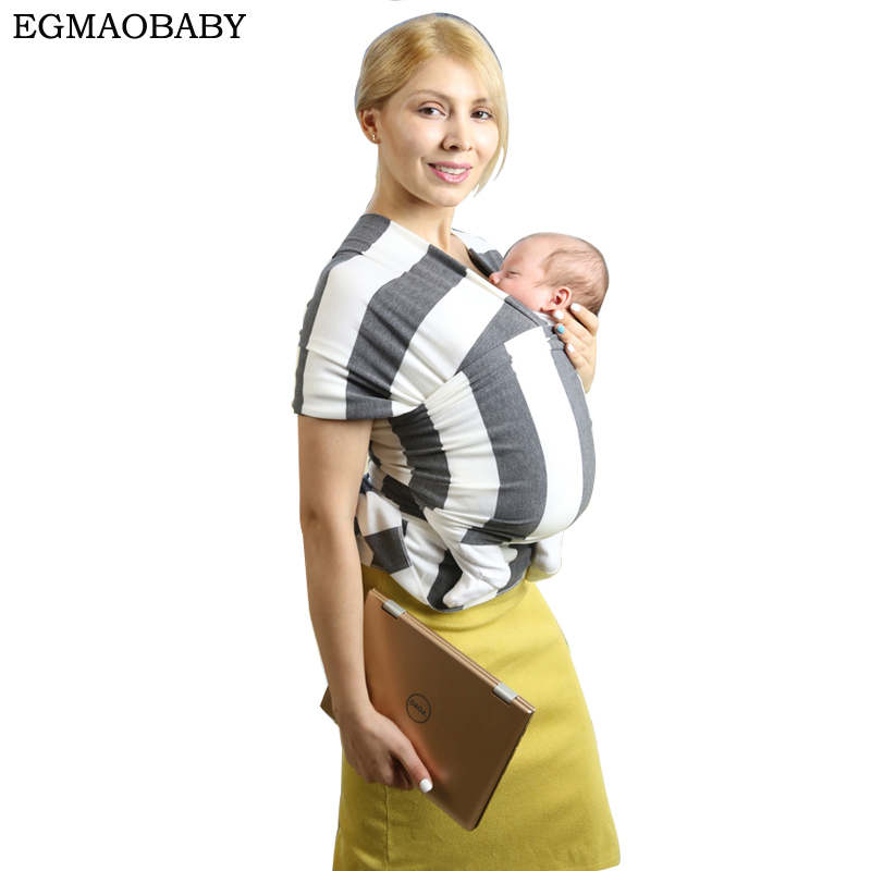 Baby Wrap - Baby Carrier by EGMAOBABY | 5 Colors | Soft Carrier - Baby Sling - Postpartum Belt - Nursing Cover | Great Baby Show free shipping 4 in 1 soft structured baby carrier 15 colors baby carrier 15 kinds baby sling baby pouch