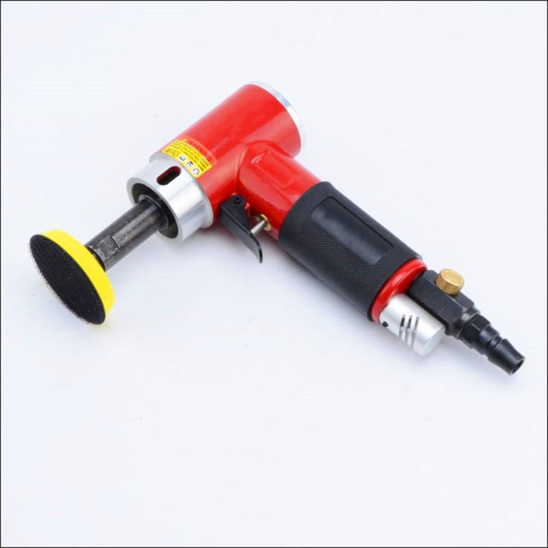 1 inch 90 degree small pneumatic polisher straight centricity grinding machine air sanding tool long spindle straight model free shipping reciprocating type pneumatic sanding tool air polishing machine wind grinding tool sander machine 3mm move track
