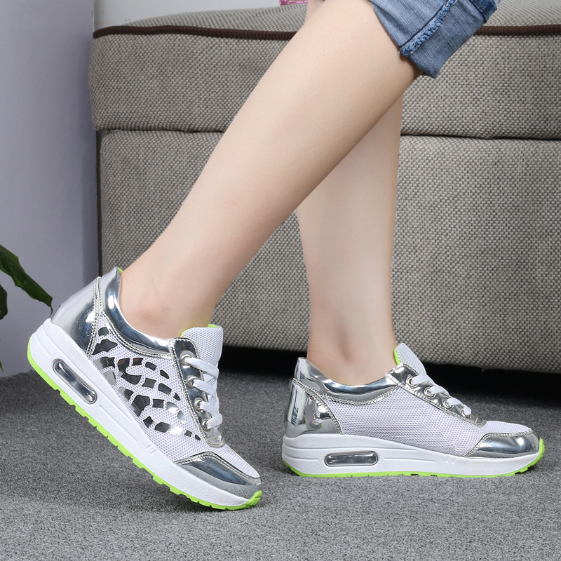 Trainers Women Casual Shoes Summer Style Outdoor Breathable Low Top Shoes Woman Flat Heels Sport Ladies Shoes Size 35-40 ZD71 (9)