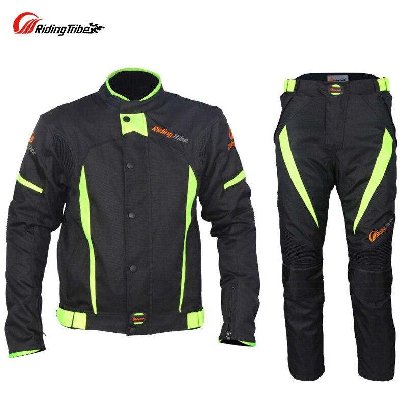 Équitation tribu Motocycle vêtements vestes pantalons hommes Moto course cyclisme costume imperméable Antifouling été hiver cavalier vêtements