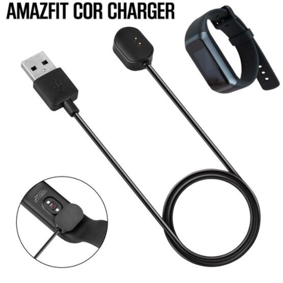 50pcs For Huami Amazfit Cor Band A1702 Portable Magnetic Charger New Charging Cable Over Charge Protection