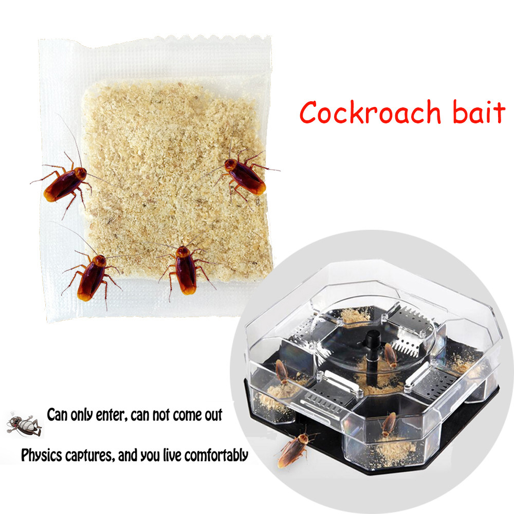 Hot Sale Product Cockroach Attracting Bag Flycatcher Practical Convenient Odorless Bait Convenient And  Practical Household