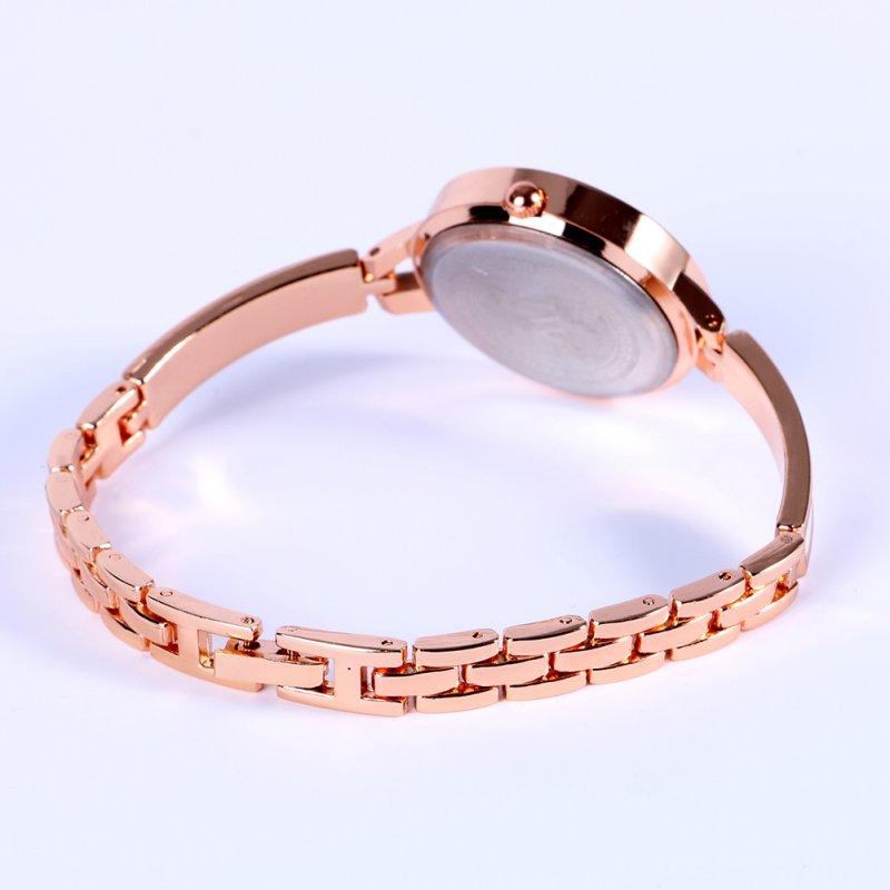 Women Girls Relojes Luxury Analog Display Quartz Relogio Guld Silver - Damklockor - Foto 4
