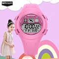 SANDA children's watches Fashion Casual Wristwatch for girls and boys New LED Analog Digital Quartz Sports shock watch relogio