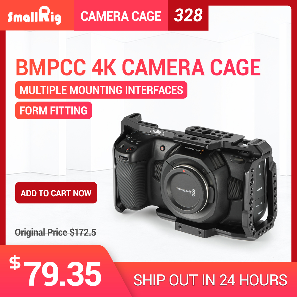 SmallRig bmpcc 4 к клетка DSLR камера Blackmagic Pocket 4 к для Blackmagic Pocket cinema camera 4 к BMPCC 4 к 2203