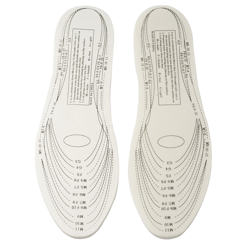 Unisex Memory Foam Shoe Insoles Comfort Pain Relief For All Size Shoes Insoles Shoes Accessories