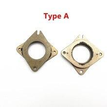 Nema 17 Metal Rubber Dampers Mounts with M3 Screws  Rubber Stepper Motor Vibration Dampers For  diy Prusa 3d Printer