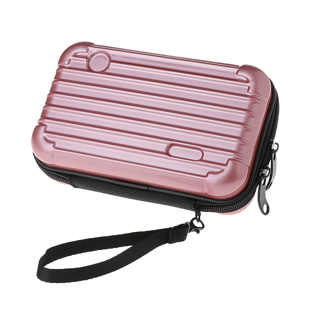2019 New Mini Luggage Makeup Case Lady Cosmetic Handbag Pouch Toiletry Organizer Bag