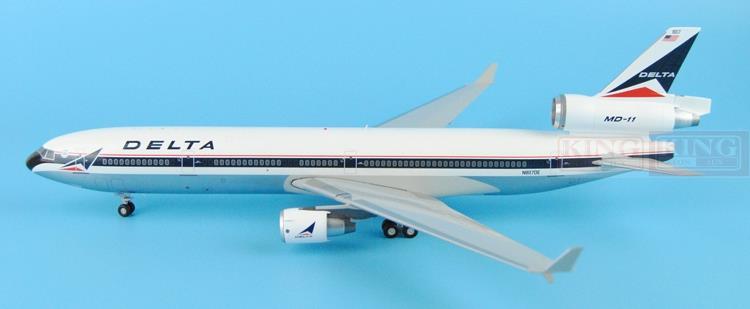G2DAL407 America MD-11 N807DE GeminiJets 1:200 Delta commercial jetliners plane model hobby