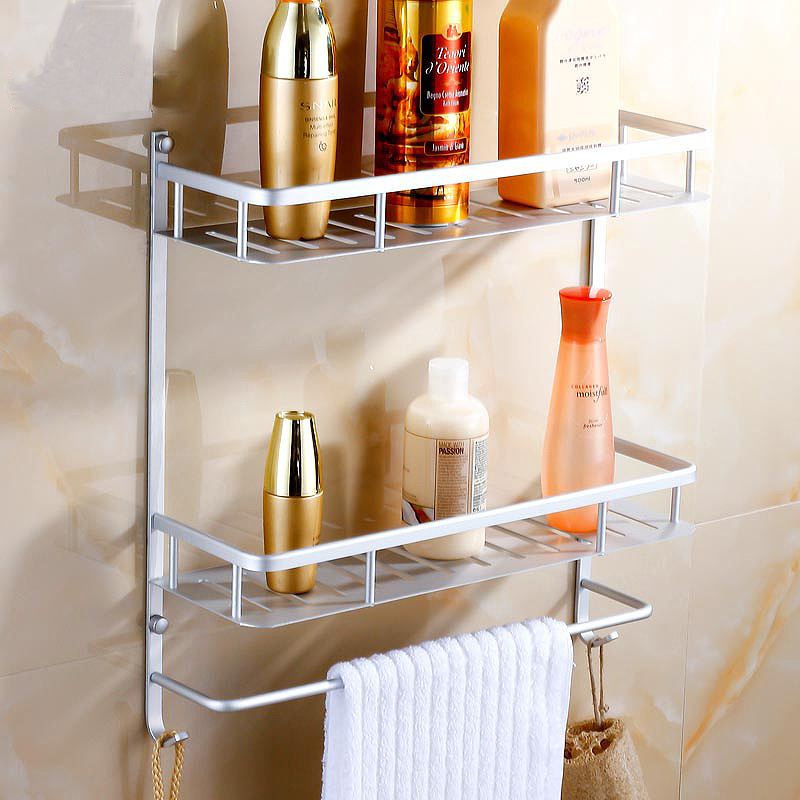 A Shelf 58 15c 5 Chrome Pull Out Basket: Space Aluminum Corner Basket Bathroom Products Luxury