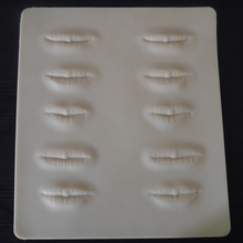 3D Tattoo Practice Skin Cosmetic Permanent Makeup Eyebrow Lip Practice Skin Training Fake Tattoo Practice Skin