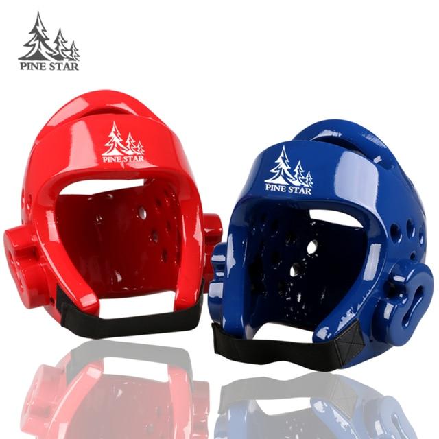 effaf889191e2 Kick Boxing Karate Taekwondo Capacete Protetor de Cabeça Engrenagem  Sparring Protector S-XL
