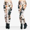 Niñas Leggin Divertido 3D Diferentes Gatos Lindos Impreso Leggings Mujeres de Cintura Alta Leggings Pant Con Estirada Legging Ocasional