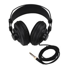 SAMSON SR850 Professional Studio Reference Monitor Headphones Dynamic Headset Semi open Design