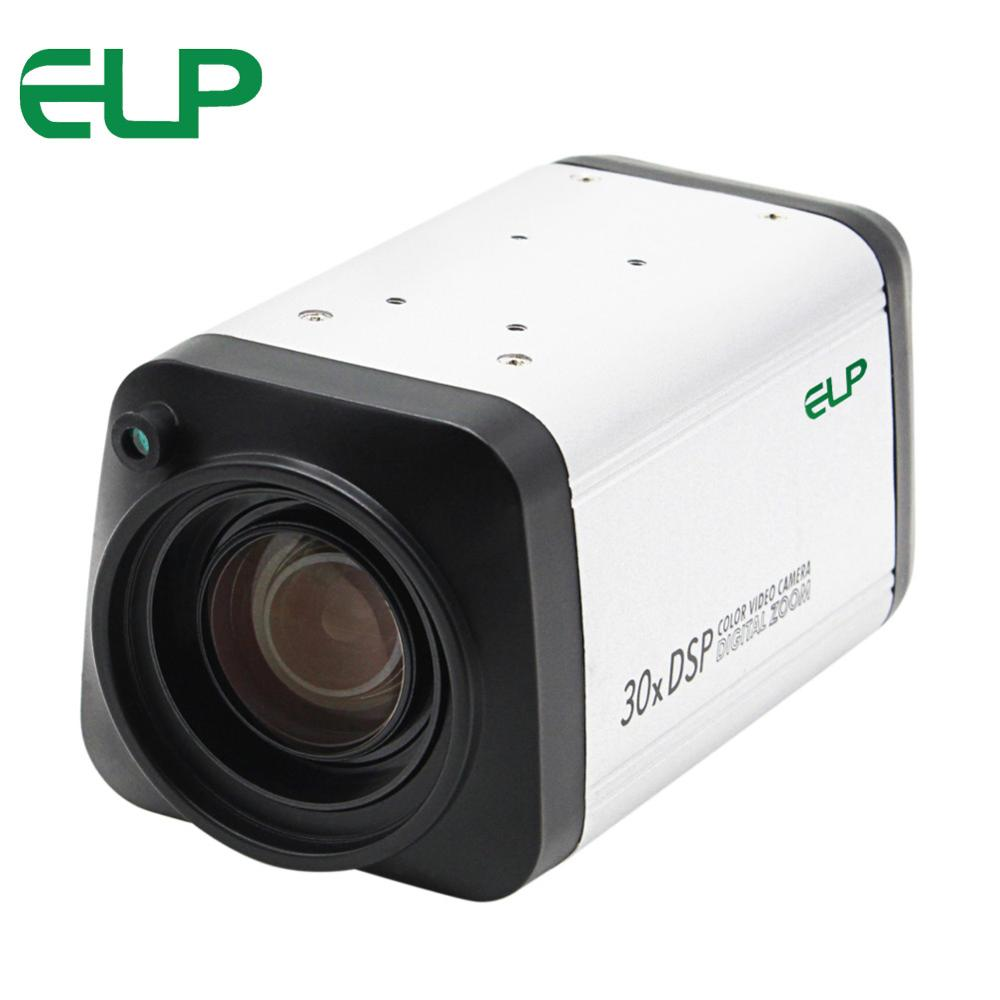 1080P AHD All in one camera 30X 3-90mm zoom lens box Camera WDR Auto IRIS DSP color video Camera удлинитель zoom ecm 3