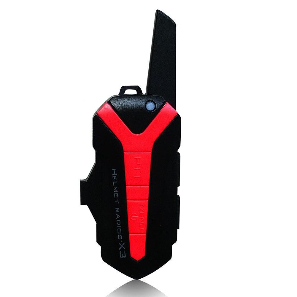 Nouveau X3 Plus up 3 KM casque de moto étanche Bluetooth casque moto vélo casque interphone casque