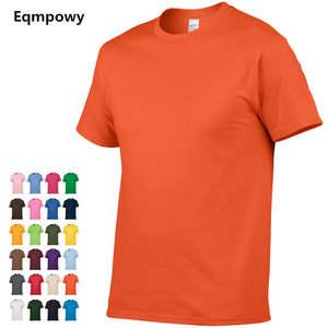 5558842b6a2 Eqmpowy 2018 T shirt 100% cotton t-shirt men tee shirt