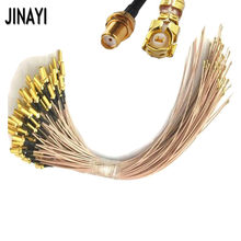 100pcs 5cm/10cm/15cm/20cm/30cm SMA Jack Female to uFL/u.FL/IPX/IPEX RF Coax Adapter Assembly RG178 Pigtail Cable