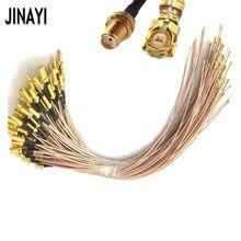 100 шт. 5 см/10 см/15 см/20 см/30 см гнездо SMA для uFL/u.FL/IPX/IPEX РЧ коаксиальный адаптер в сборе RG178 ОТРЕЗОК кабеля