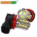 CNSUNNYLIGHT New H11 H8 H9 21 LED 5730 SMD Car Daytime running light  Fog Head light Lamp Bulb Xenon White