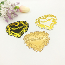 Julyarts 2019 New Lace Flower Heart Hot Foil Plate Metal Cutting Die For Scrapbooking Stencils Stamping Card Cut Craft Dies