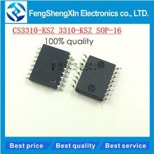 10 teile/los Neue CS3310 CS3310-KS CS3310-KSZ 3310-KSZ SOP16 Digital volume control chip IC