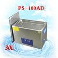 1PC Ultraschall Reiniger edelstahl Reinigung Maschine gläser schmuck spezielle zweck PS-100AD 30L 600W mit korb