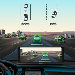 """Image 4 - Bluavido 8 """"Android 4G araba dvrı kamera GPS Navigasyon ADAS FHD 1080P araba video kaydedici Gece Görüş WiFi uzaktan kontrol monitörü Dash kamera"""
