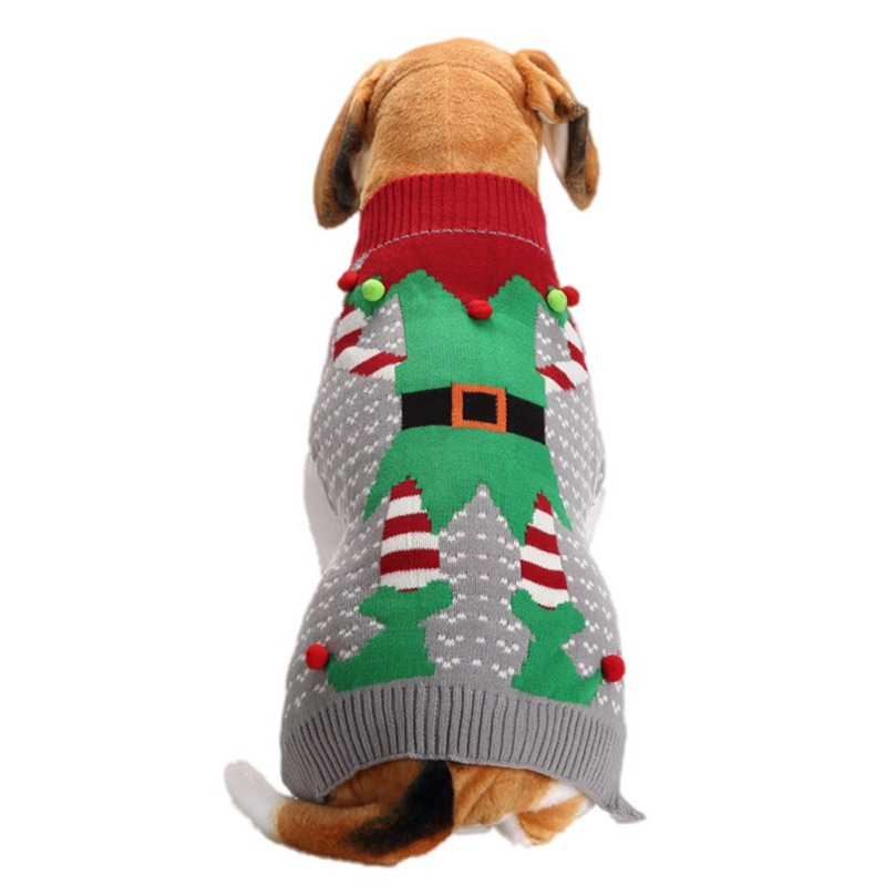 Compra dog santa sweater y disfruta del envío gratuito en AliExpress.com