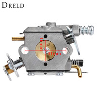 DRELD Chainsaw Carburetor Carb Carby For Partner 350 351 370 371 420 Chain Saw Spare Parts