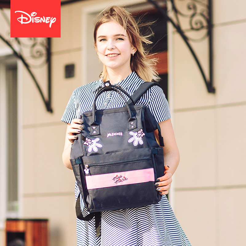 Disney Diaper Backpack Mummy Maternity Nappy Bag Large Capacity Baby Nursing Bag Travel Backpack Cartoon Fashion Multi-function cat