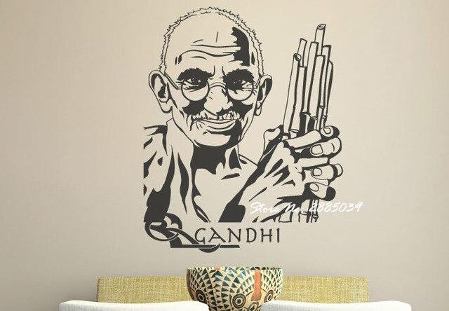 Quotes Voor Slaapkamer : Mahatma gandhi vintage muurschildering muurstickers quotes