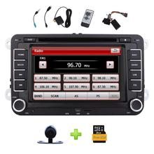 Wireless Backup Camera Included! Car Radio for VW Golf Skoda Seat Passat Jetta Polo Car Stereo 2Din DVD CD Player Support GPS