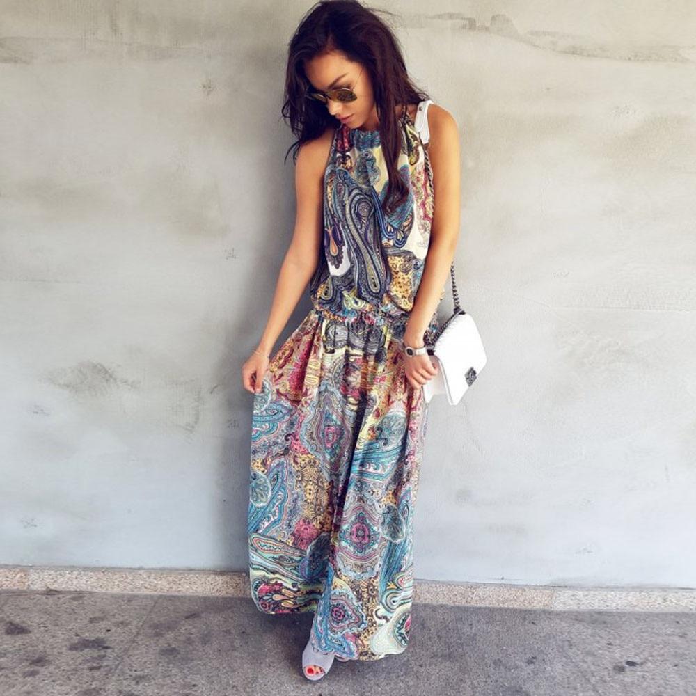 De las mujeres del verano dress 2017 diseños dress vintage vestidos boho mujer v