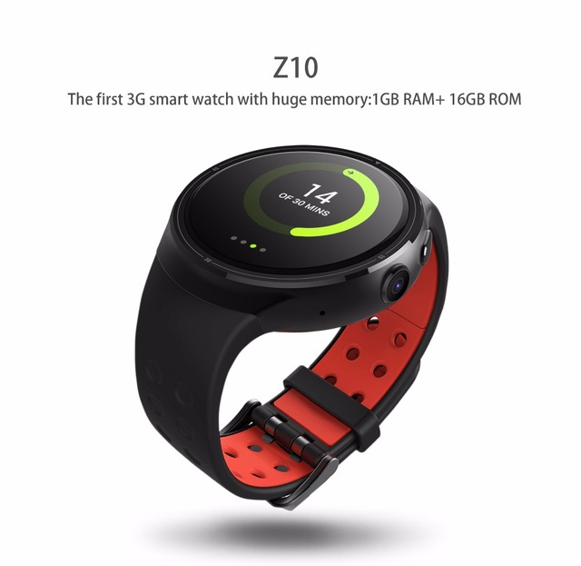 "Mindkoo Z10 Android 5.1 Смарт-часы 1 ГБ 16 ГБ MTK6580 Quad Core 1.39 ""400*400 SmartWatch С WI-FI GPS SIM для iOS и Android"