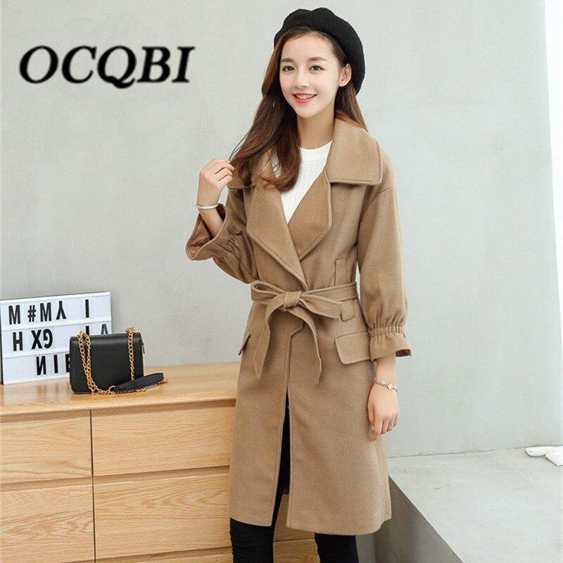 De Coréenne Designer Dames Mince Manteau Qualité Haute Hiver Printemps Manteaux Mode Style 2018 Femmes wxFIvqRnf