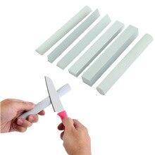 Портативный Ножи алмазной крошкой точилка шлифования заточки геометрический Форма stick Охота Кухня Ножи рыболовный крючок точильный камень