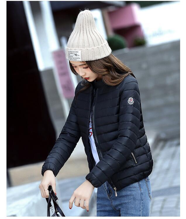 Frauen Kurze Parkas Dicke Warme Winter Kleidung Oberbekleidung Plus Größe 3XL Stehen Kragen Weibliche Winter Wadded Jacke Casual Mäntel