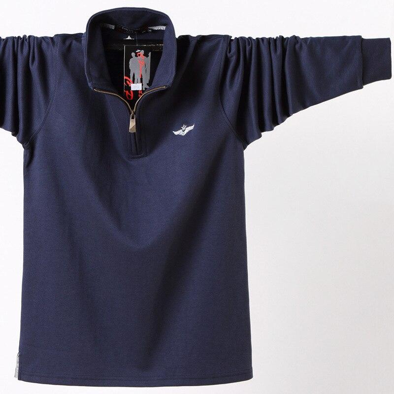 Aliexpress.com : Buy 2019 long sleeve fake two pieces polo ...   Men Polo Long Sleeve Dress